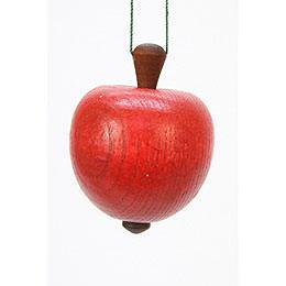 Christbaumschmuck Apfel - 4,0 / 5,3 cm