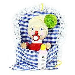 Christbaumschmuck Baby Mädchen - 10 cm
