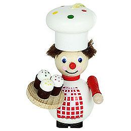 Christbaumschmuck Cupcake-Bäcker - 9 cm