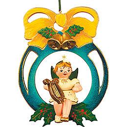 Christbaumschmuck Engel/Kugel/Laute - 10 cm
