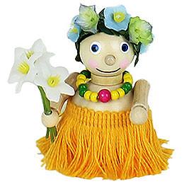 Christbaumschmuck Hawai-Mädchen - 7 cm