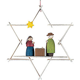Christbaumschmuck Maria und Josef - 9,5 cm