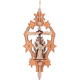 Christbaumschmuck Stern - Christi Geburt - 15,5 cm