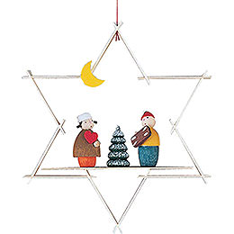 Christbaumschmuck Striezelkinder - 9,5 cm