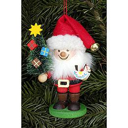 Christbaumschmuck Strolch Weihnachtsmann - 10,5 cm