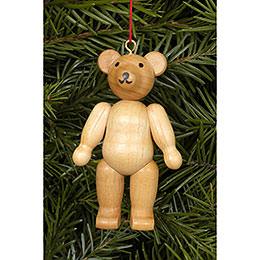 Christbaumschmuck Teddybär natur - 4,5 / 6,2 cm