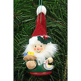 Christbaumschmuck Wackelmännchen Weihnachtsmann - 12,5 cm