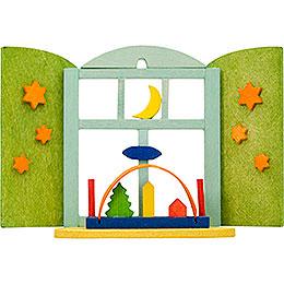 Christbaumschmuck Weihnachtsfenster Schwibbogen 6 cm