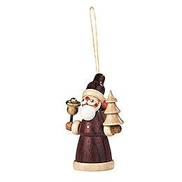 Christbaumschmuck Weihnachtsmann - 8 cm