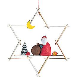 Christbaumschmuck Weihnachtsmann - 9,5 cm