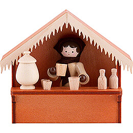 Christmas Market Stall Glogg with Thiel Figurine - 8 cm / 3.1 inch