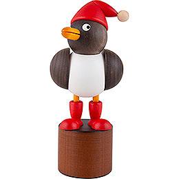 Christmas Seagull grey - 12,5 cm / 4.9 inch