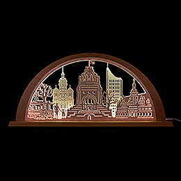 City Light Leipzig - 69x32 cm / 27.2x12.6 inch