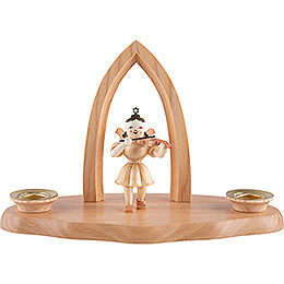 Cloud Natural with Angel and Arch - 17x9x12cm - 6.9x3.5x4.7 inch