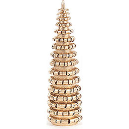 Coiled Tree without Trunk - Golden - 8 cm / 3.1 inch