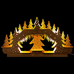 Collector Candle Arch - without Figurines - 62x34 cm / 24.4x13.4 inch