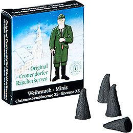 Crottendorfer Incense Cones Christmas Frankincense - Miniature
