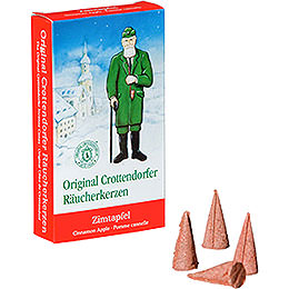 Crottendorfer Incense Cones - Cinnamon Apple