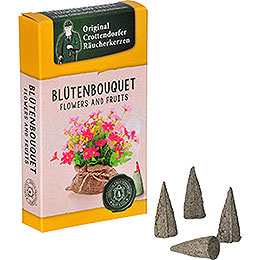 Crottendorfer Incense Cones - Flowers and Fruits - Flower Bouquet