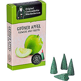 Crottendorfer Incense Cones - Flowers and Fruits - Green Apple