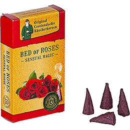 Crottendorfer Incense Cones - Sensual Magic - Bed of Roses