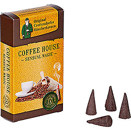 Crottendorfer Incense Cones - Sensual Magic - Coffee House