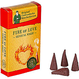 Crottendorfer Incense Cones - Sensual Magic - Fire of Love