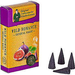 Crottendorfer Incense Cones - Sensual Magic - Wild Romance