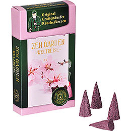 Crottendorfer Räucherkerzen - Weltreise - Zen Garden