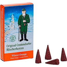 Crottendorfer Räucherkerzen - Winter-Orange