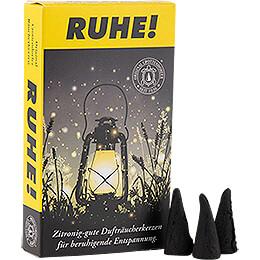 Crottendorfer Räucherkerzen - 'RUHE!' Insektenschutz
