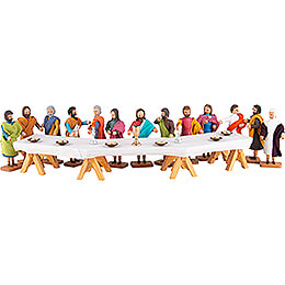 Das große Abendmahl - 14-tlg. - 8 cm