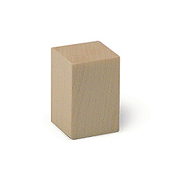 Decorative Cube - 2,2x2,2x3,3 cm / 0,9x0,9x1.2 inch