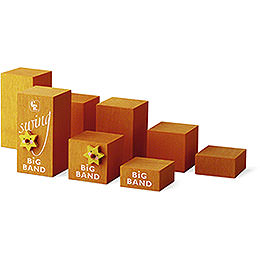 Decorative Cube Set Big Band