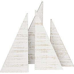 Dekobäume, 4-teilig - 35 cm