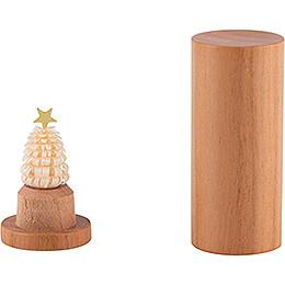 Der Weihnachtsbaum für die Hosentasche - Kirschholz - 4,5 cm