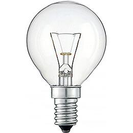 Drop Lamp Clear - E14 Socket - 230V/40W
