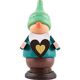 Dwarf with Heart - 6 cm / 2.4 inch