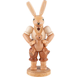 Easter Bunny Farther with Child - 11 cm / 4 inch