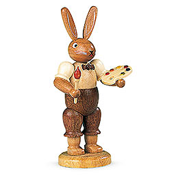 Easter Bunny Painter (male) - 11 cm / 4 inch