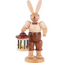 Easter Bunny with Bird Cage - 11 cm / 4 inch