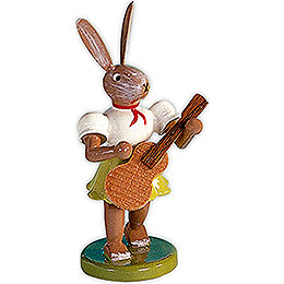 Easter Bunny with Guitar - 7,5 cm / 3 inch