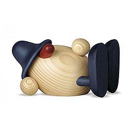 Egghead Oskar Lying Down, Blue - 11 cm / 4.3 inch