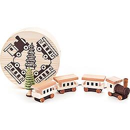 Eisenbahn in Spandose - 4 cm