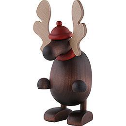 Elch Olaf, stehend - 14,5 cm