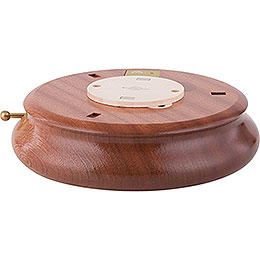Electronic Bluetooth-powered Music Box Base - 6 cm / 2.4 inch, ø 18 cm / 7.1 inch