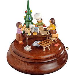 Elektronische Spieldose - Weihnachtsbäckerei - Rolf Zuckowski Edition - 19 cm