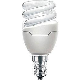 Energiesparlampe E14, 5 Watt, passend für Innenstern 29-00-I4 bis 29-00-I8