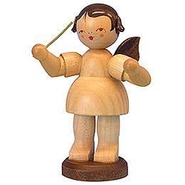 Engel Dirigent - natur - stehend - 9,5 cm