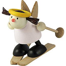 Engel Lotte auf Ski - Schneeflug - 7 cm